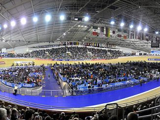 The Velodrome in Manchester