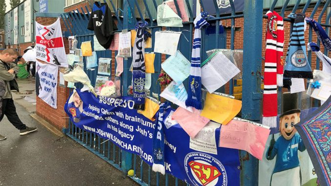 Fans come together in support of Bury FC