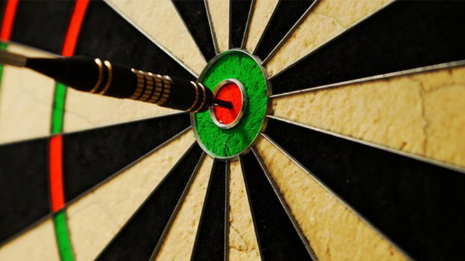 Dart board featured image